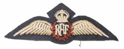 RAF pilot wing 3.