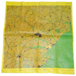 LW bombing approach target map of Ipswich and Harwich