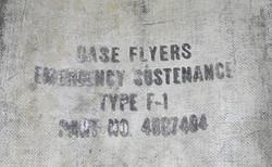 AAC Type F-1 Flyers Emergency Sustenance Case