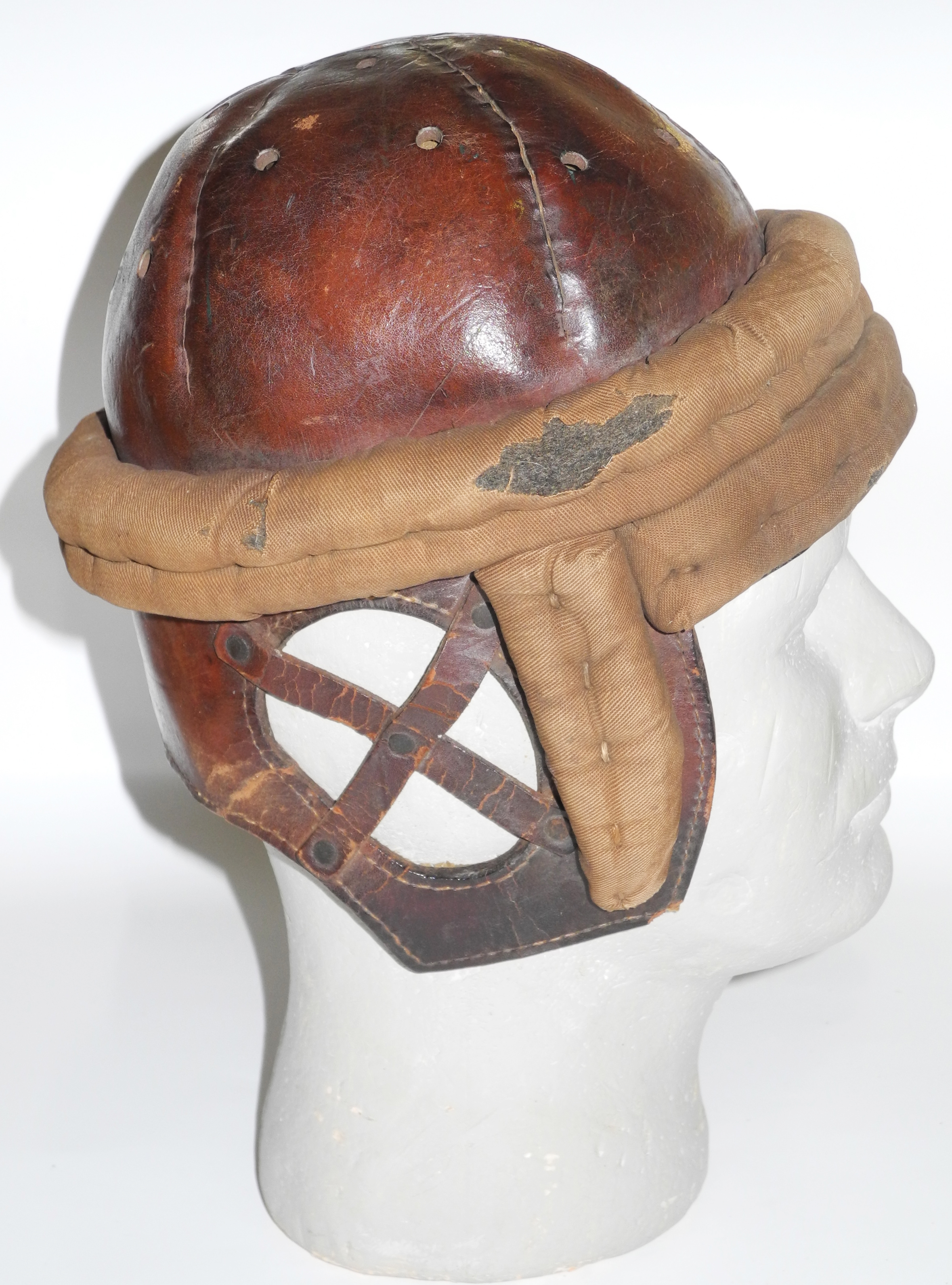 Pre-WW1 flying helmet