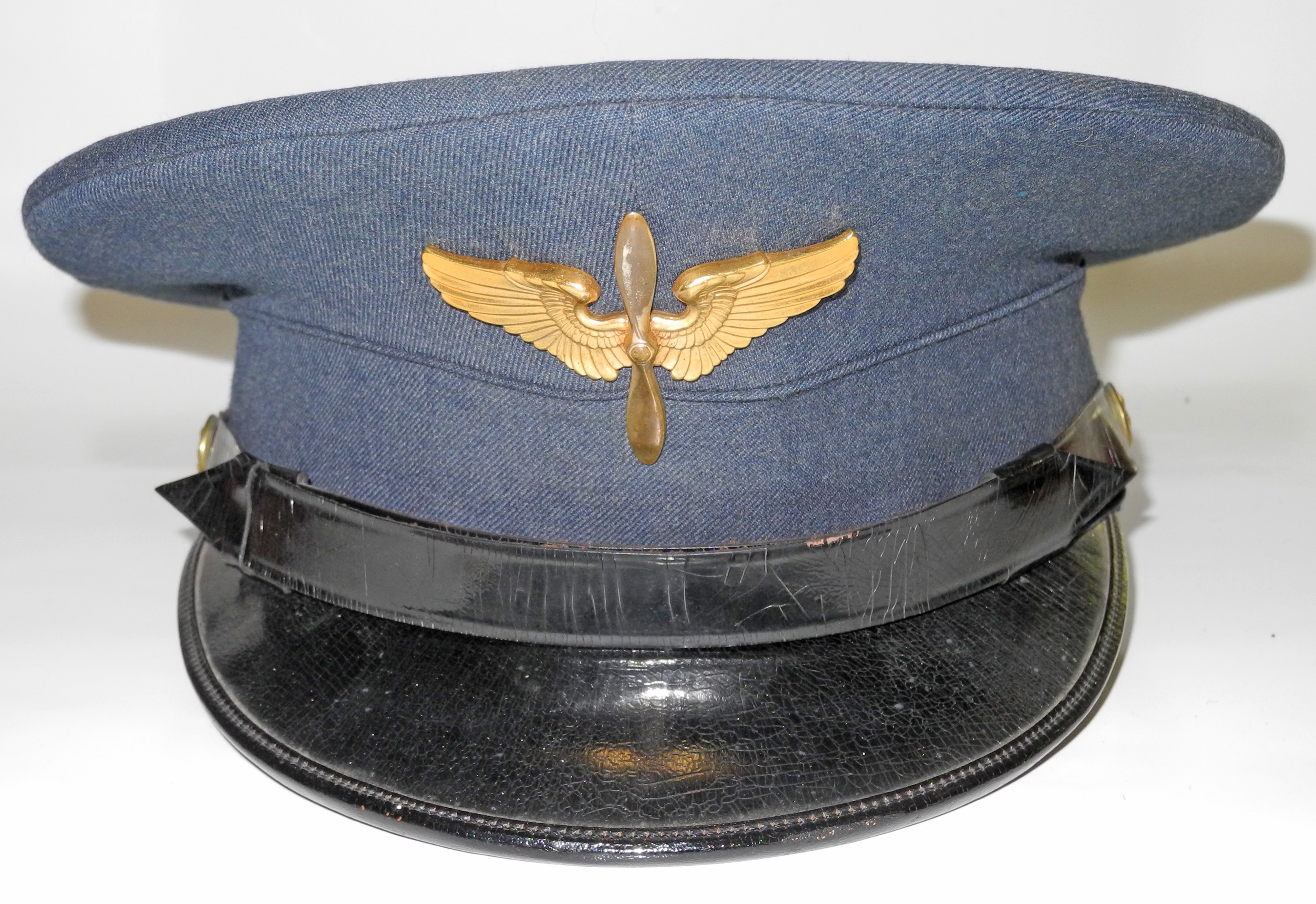 AAF Cadet service dress uniform and cap