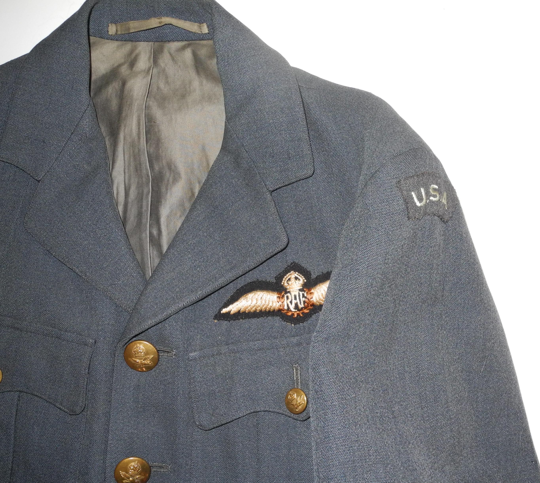 """RAF """"Yank in RAF"""" SD uniform"""
