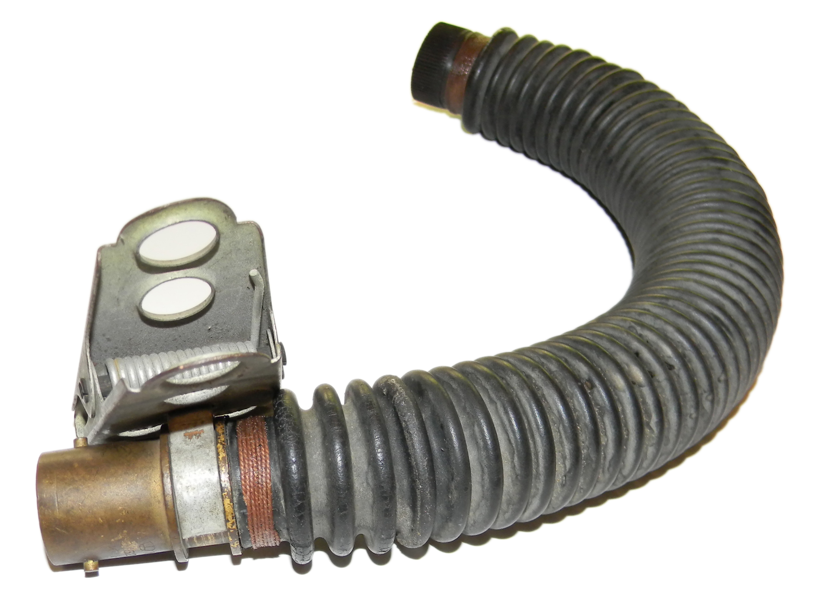WWII RAF oxygen mask hose