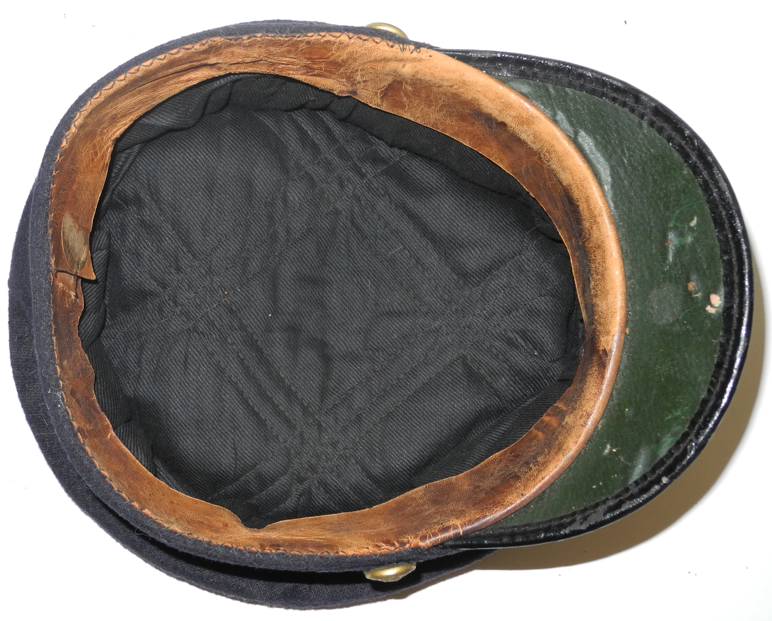 RNAS officer's cap with reproduction badgeDSCN8736