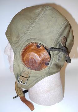 USN Green Bedford Cord flying helmet