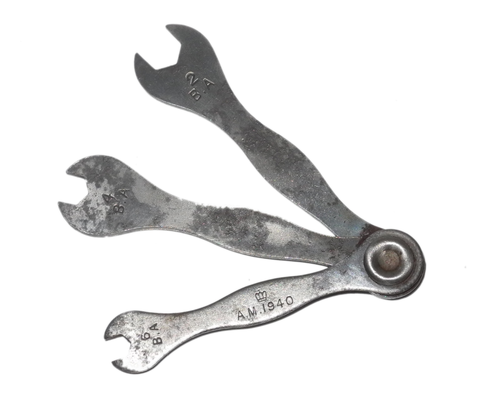Set of 3 RAF aircraft spanners