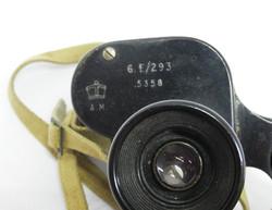 RAF 6 x 30 Binoculars + case 6E/293