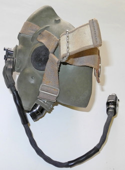 RAF Type H oxygen mask, 1963 dated