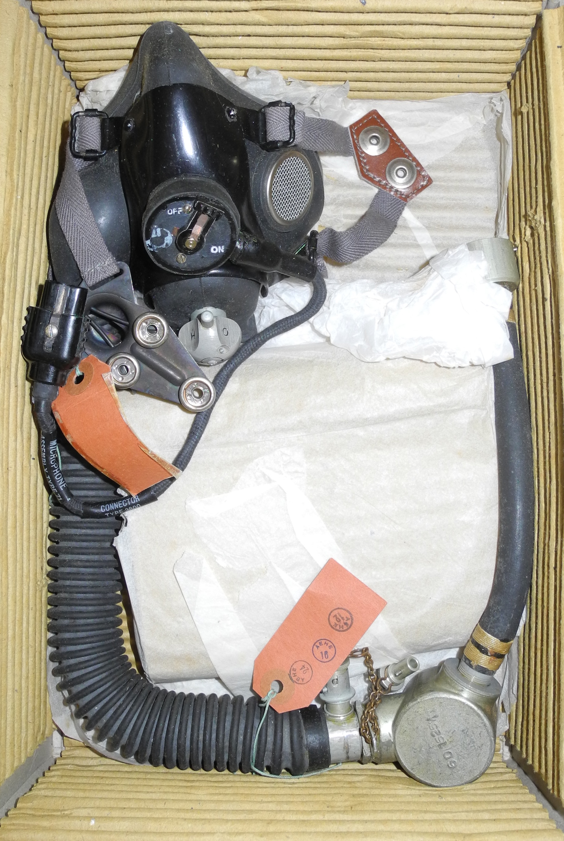 RAF Type M2 Oxygen Mask unissued