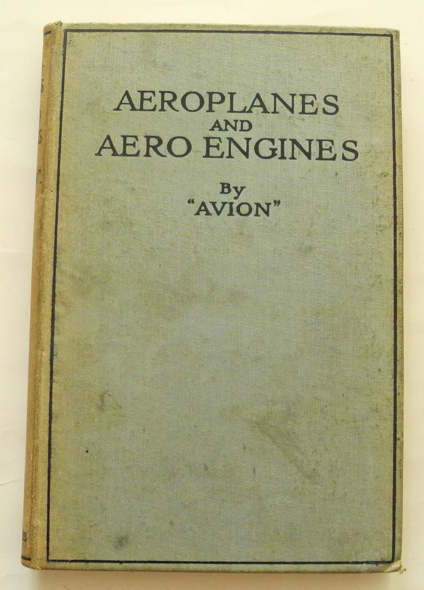 Aeroplanes and Aero Engines