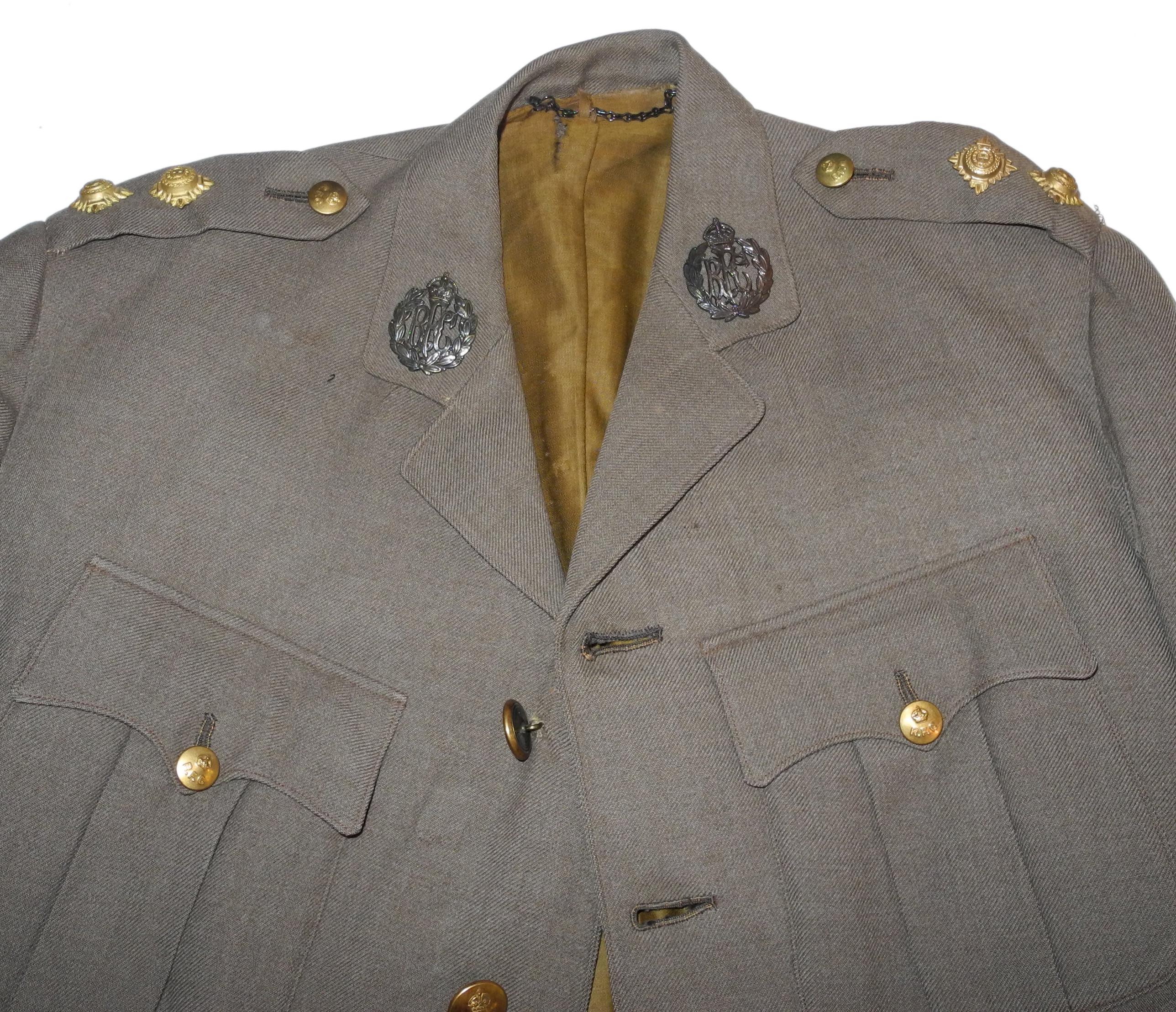 WWI RFC uniform jacket