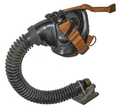 LW 6701-2 3-strap oxygen mask