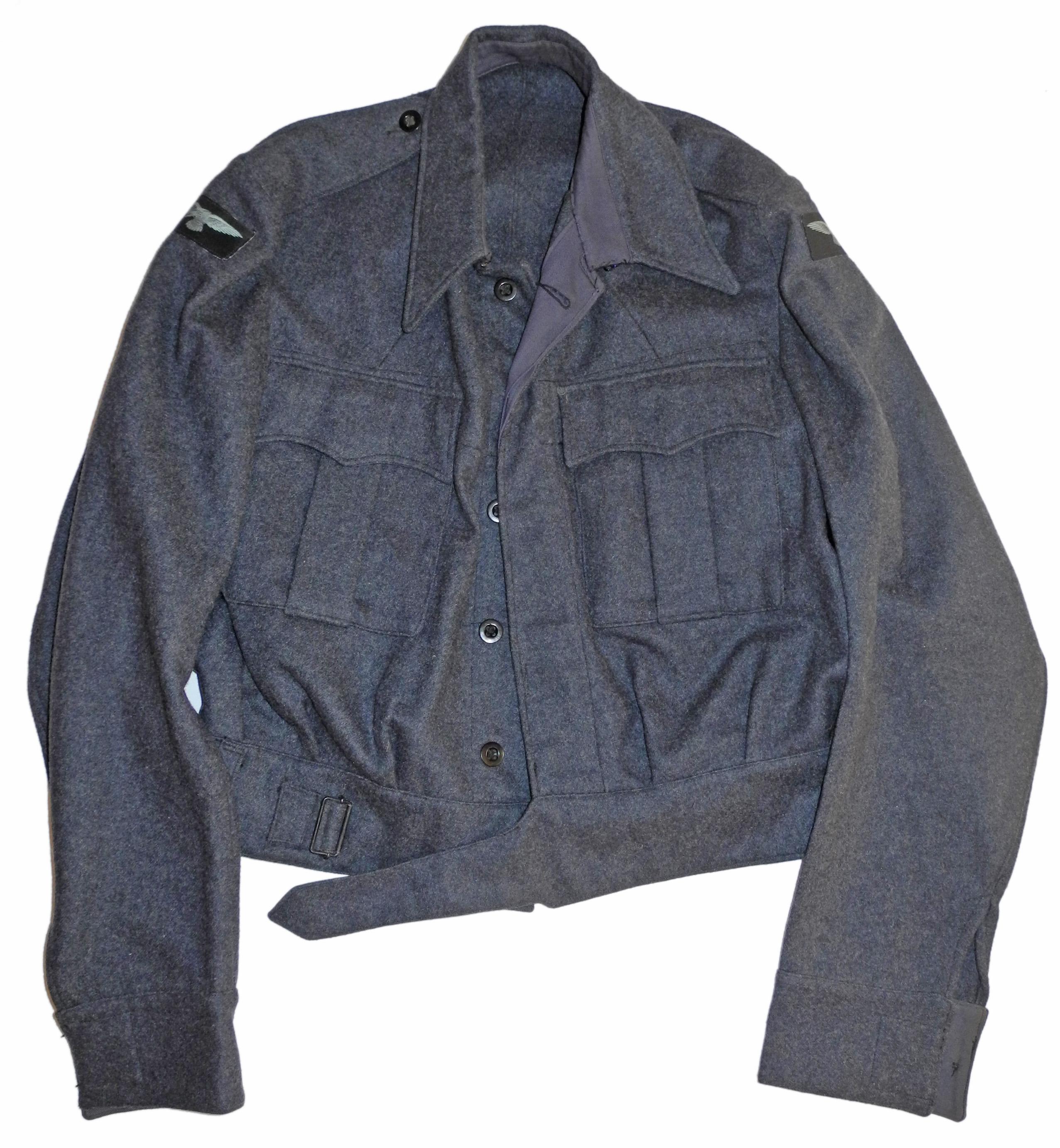1945 dated RAF War Service Dress blouse (battledress)