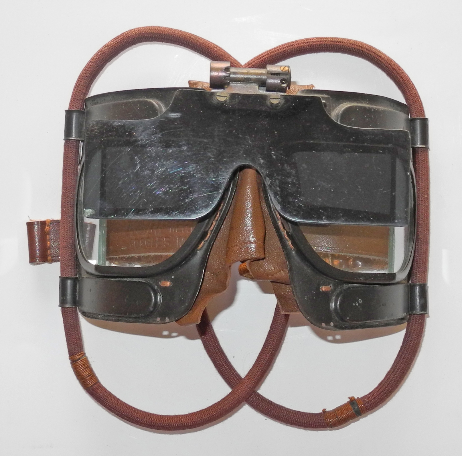 RAF Mk IVB goggles with screen