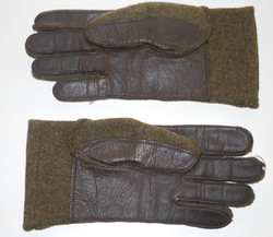 US Army wool/leather gloves size 9