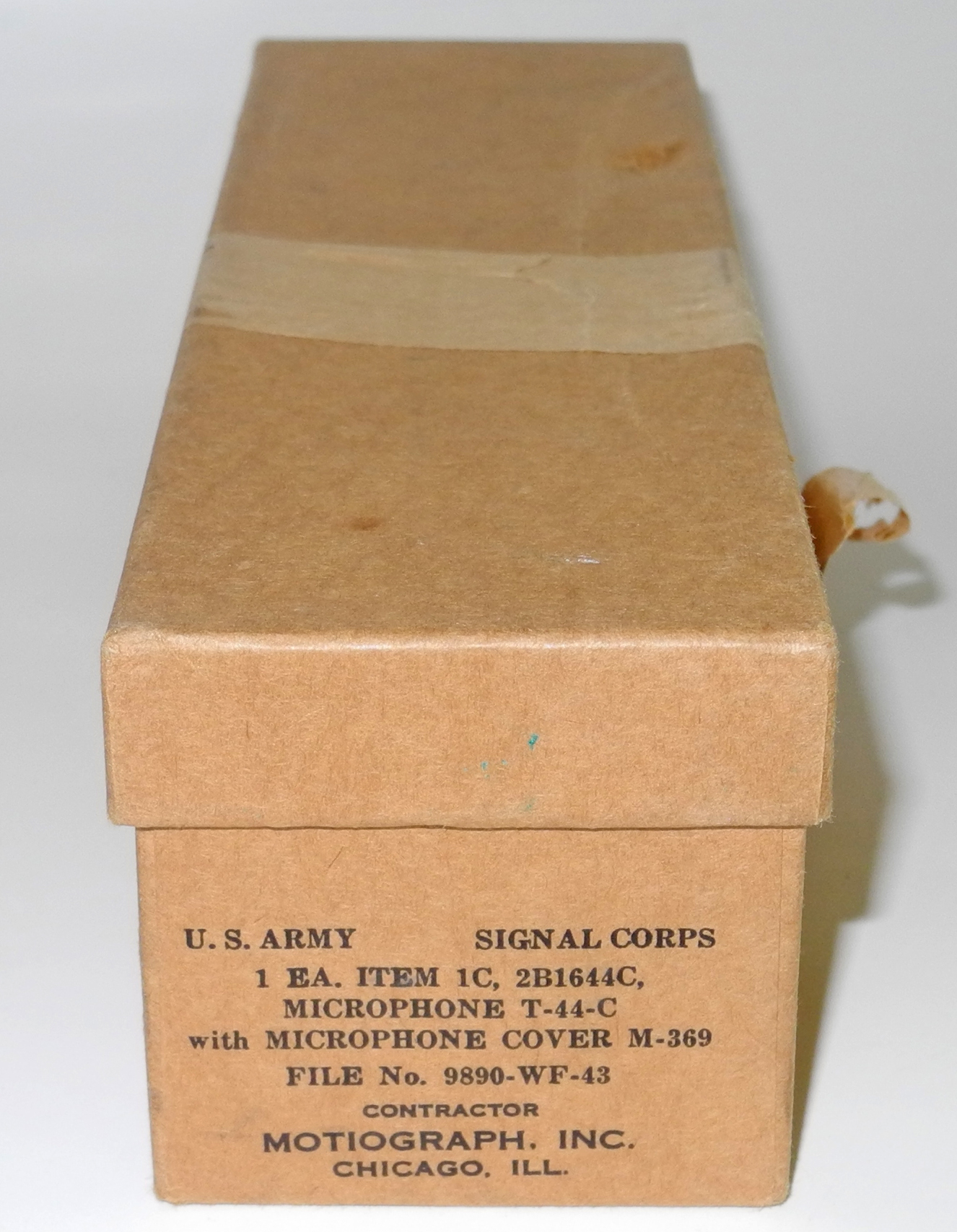 AAF T-44C microphone boxed