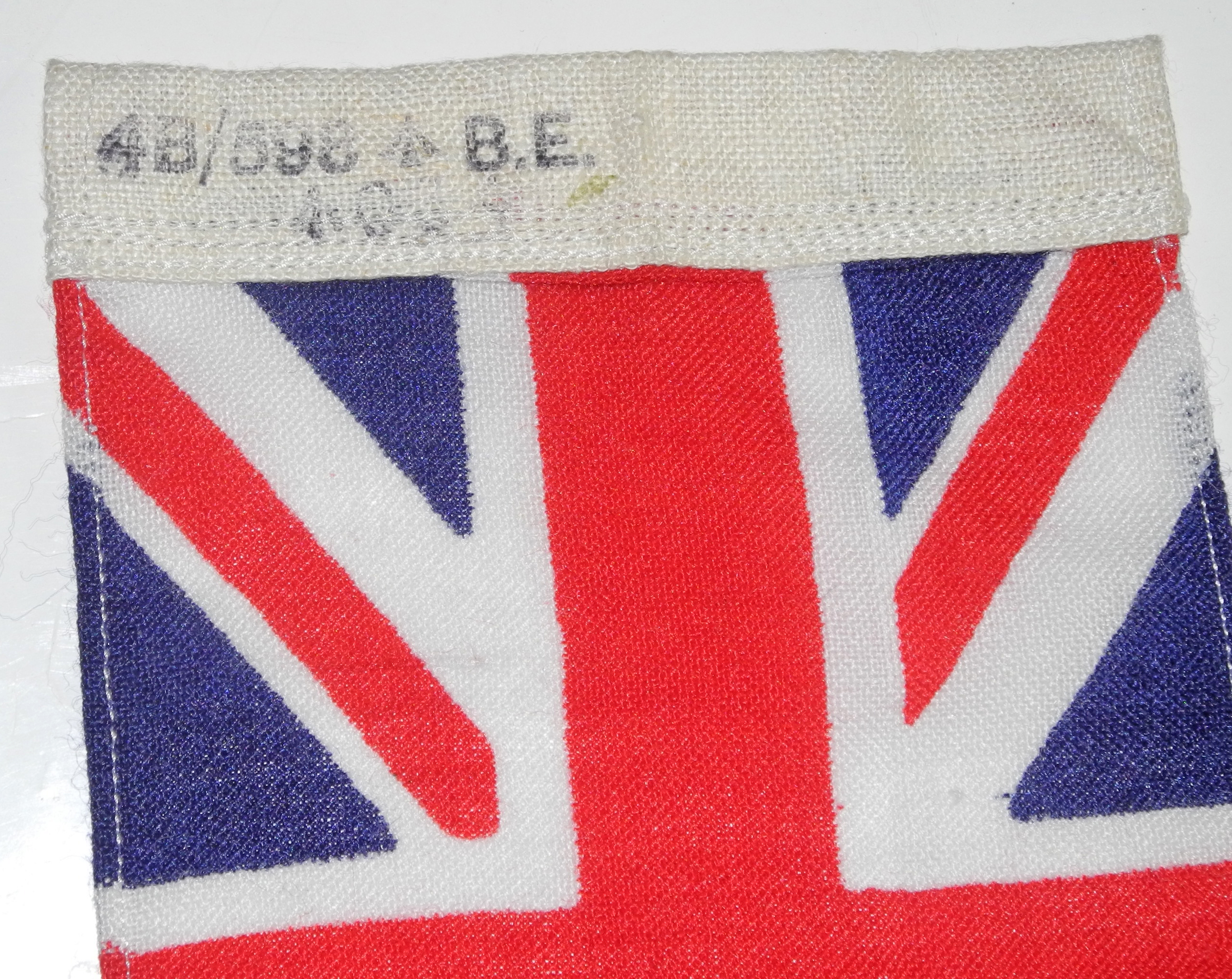 RAF Union Flag from escape kitN4481