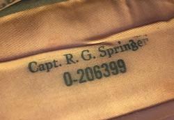 AAF officer's overseas cap
