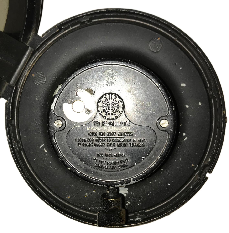 1943 dated RAF wall clock