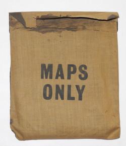 RAF Escape Purse MAPS ONLY Sheets 43AB + 43CD plus compass