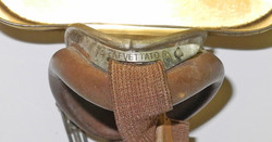 WWII Italian flying Goggles with tin