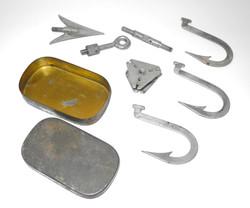 AAF survival spit and gaff assembly
