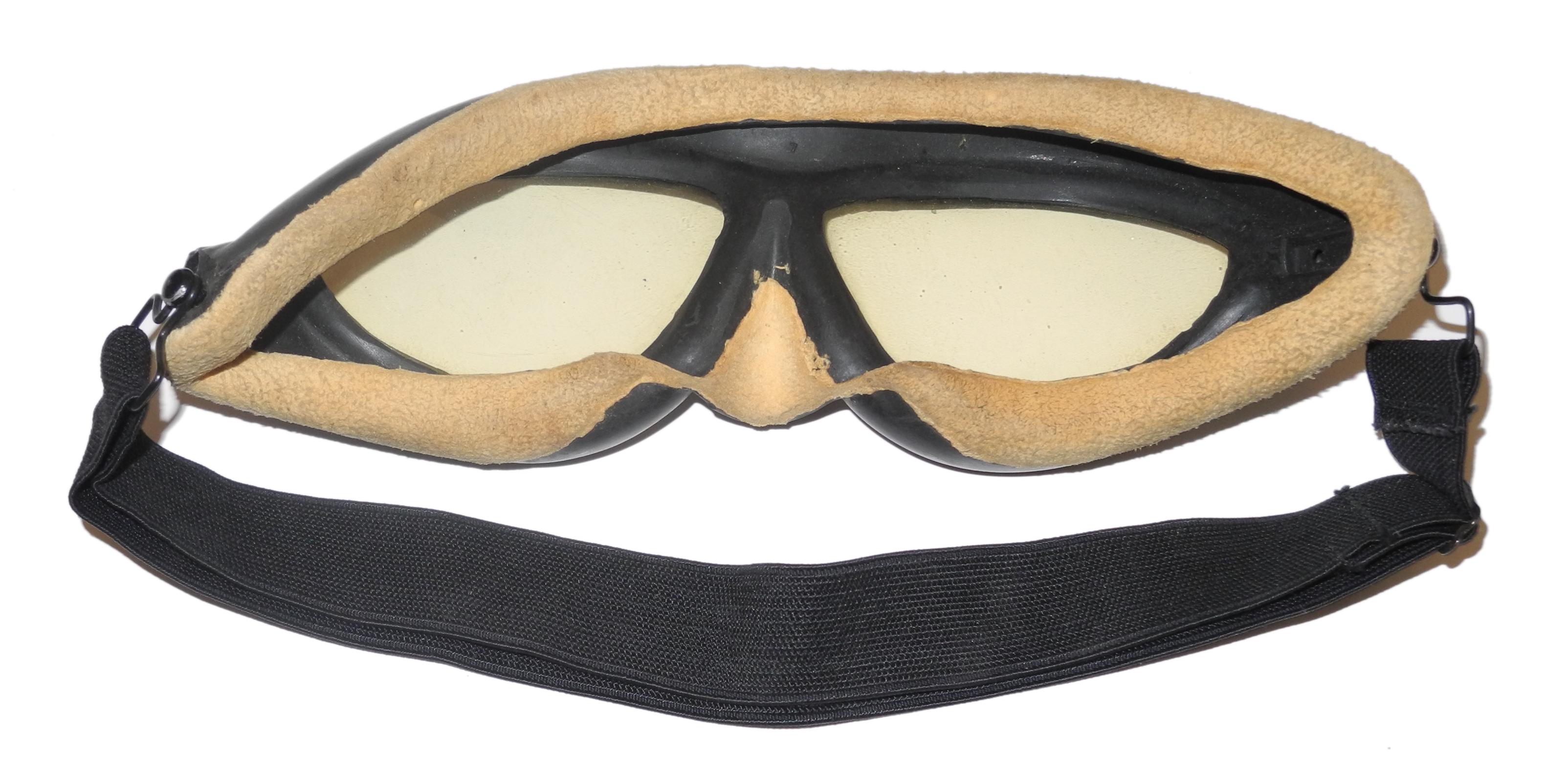 USN Willson rubber frame goggles