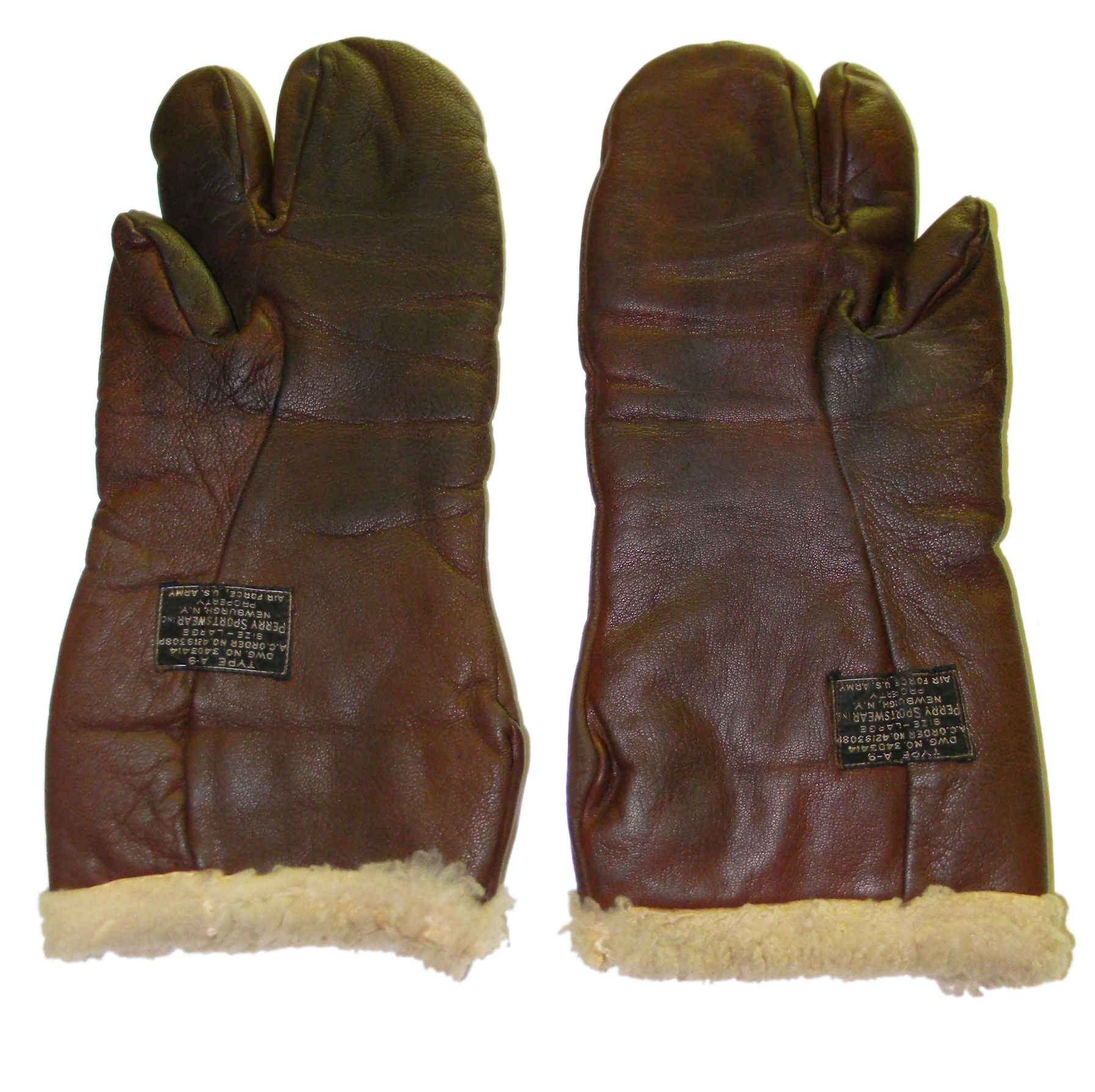 AAF B-9 gunner's gloves