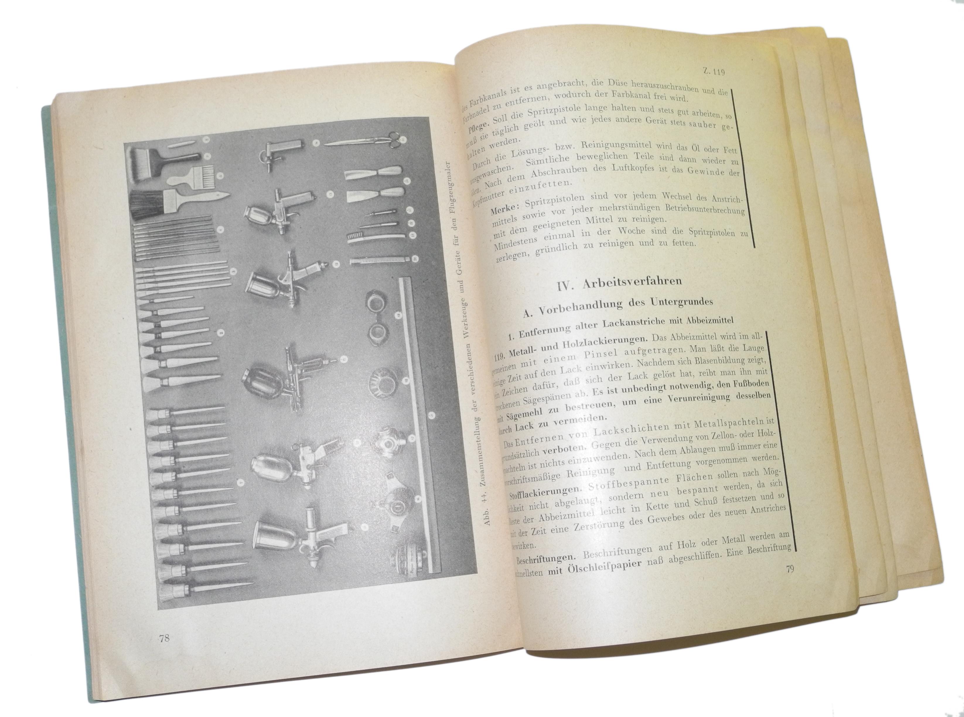 LW manual aircraft insignia