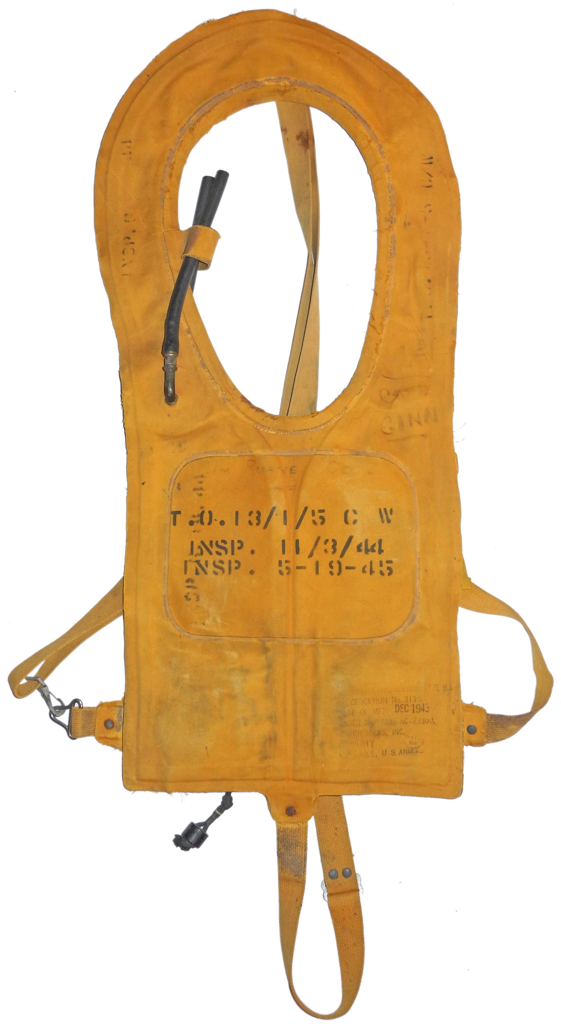 AAF B-4 Life Vest