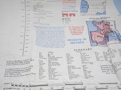 RAF Cold War escape map