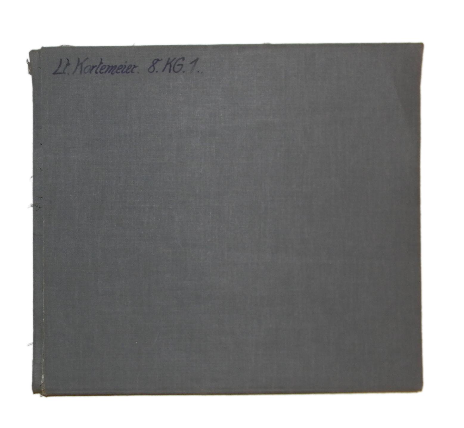 LW large blue linen chart
