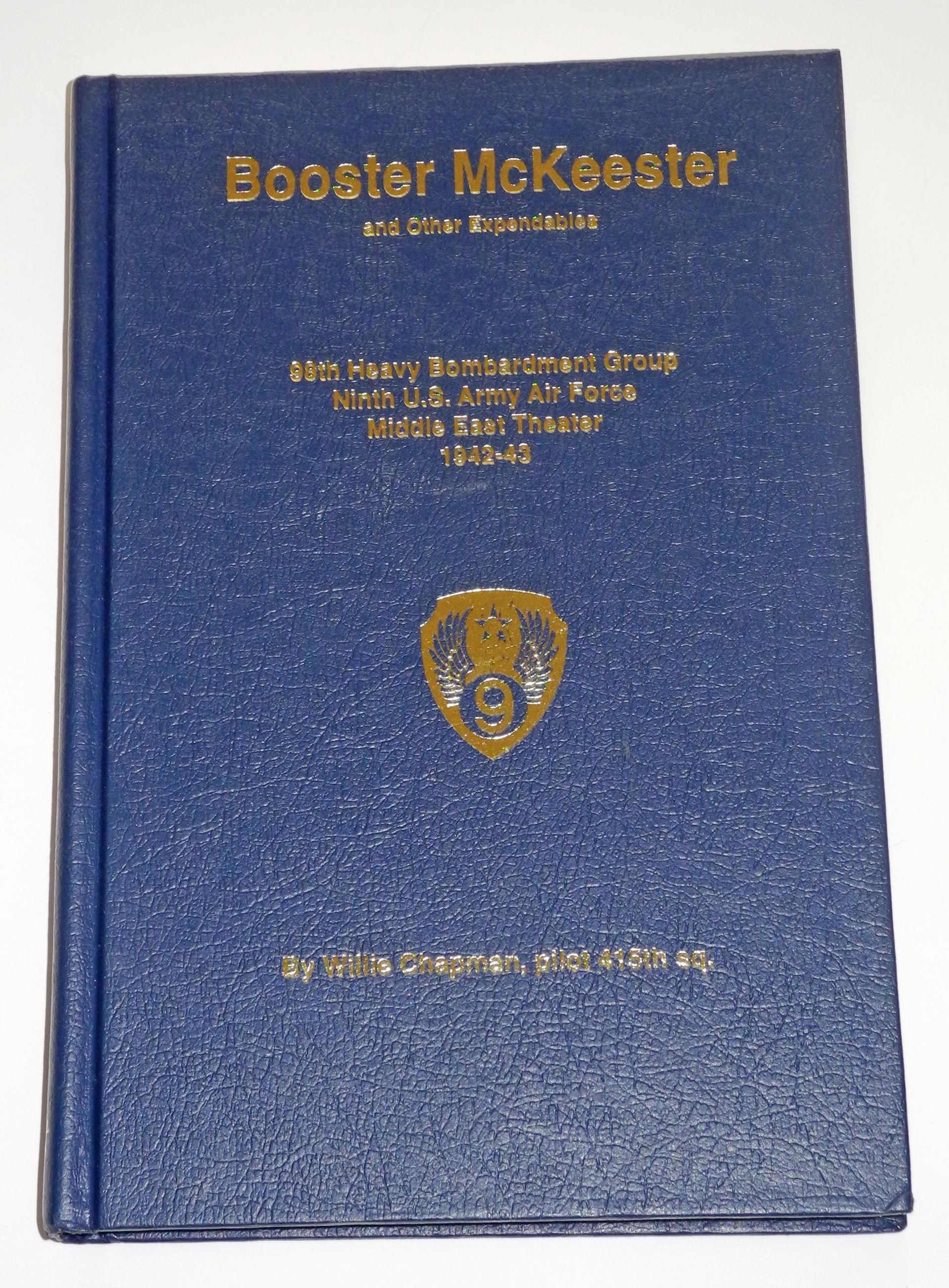 AAF Unit History: Booster McKeester