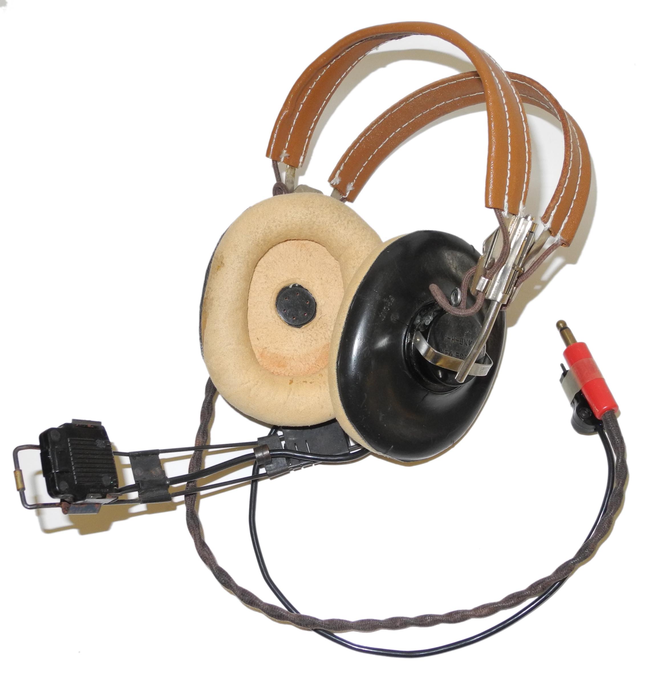 AAF HB-7 headset with boom mic.