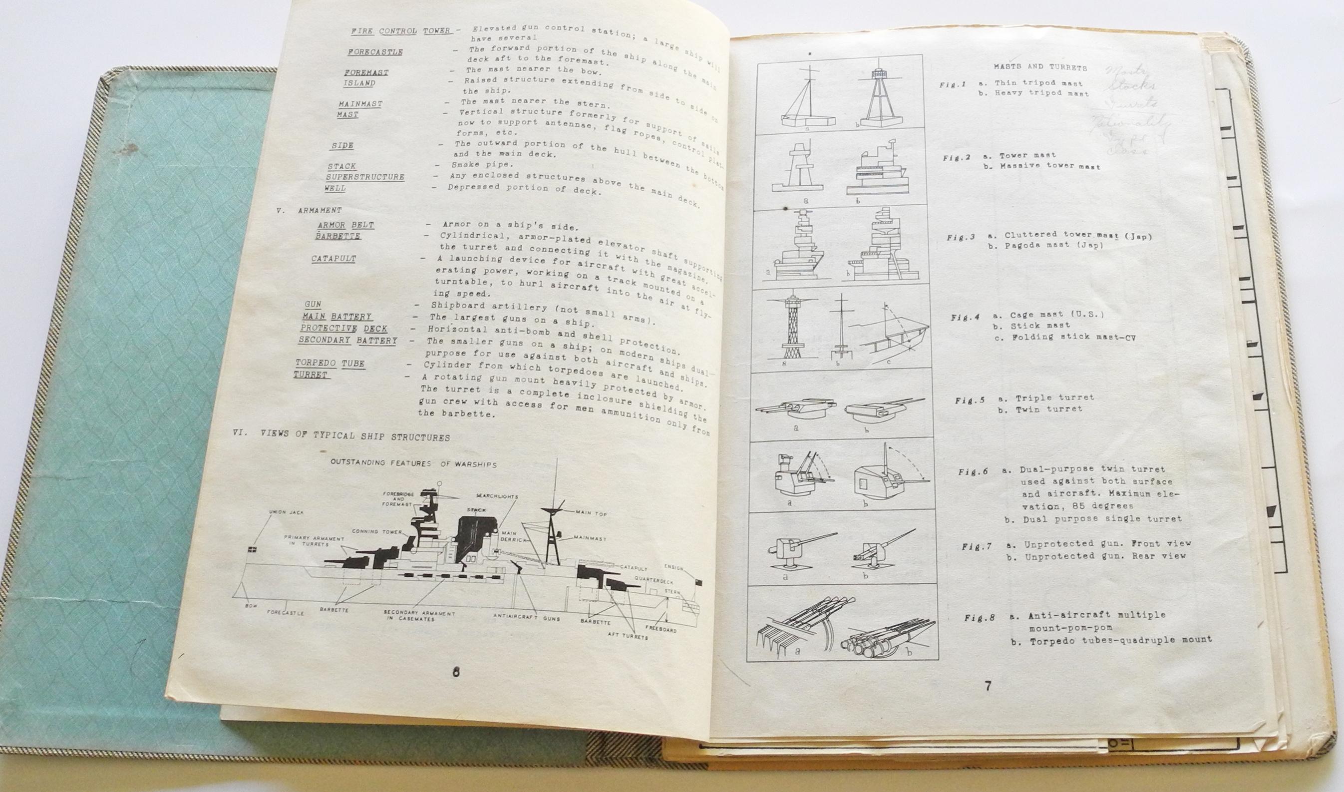 AAF Japanese ships ID dossier5477