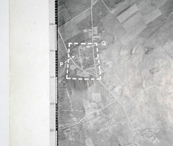 RAF Target map/photo for V-1 launch site, Fleury, France