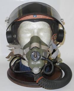 RAF Type C* (star) helmet with Type J mask and Mk I visor