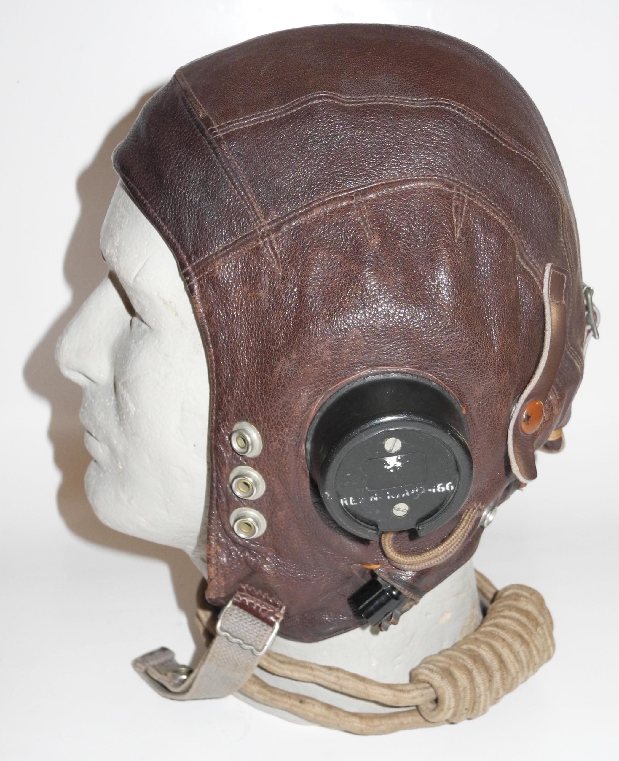RAF Type C helmet, first internally wired pattern, size 4