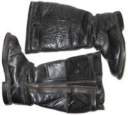 Luftwaffe single zipper flying boots