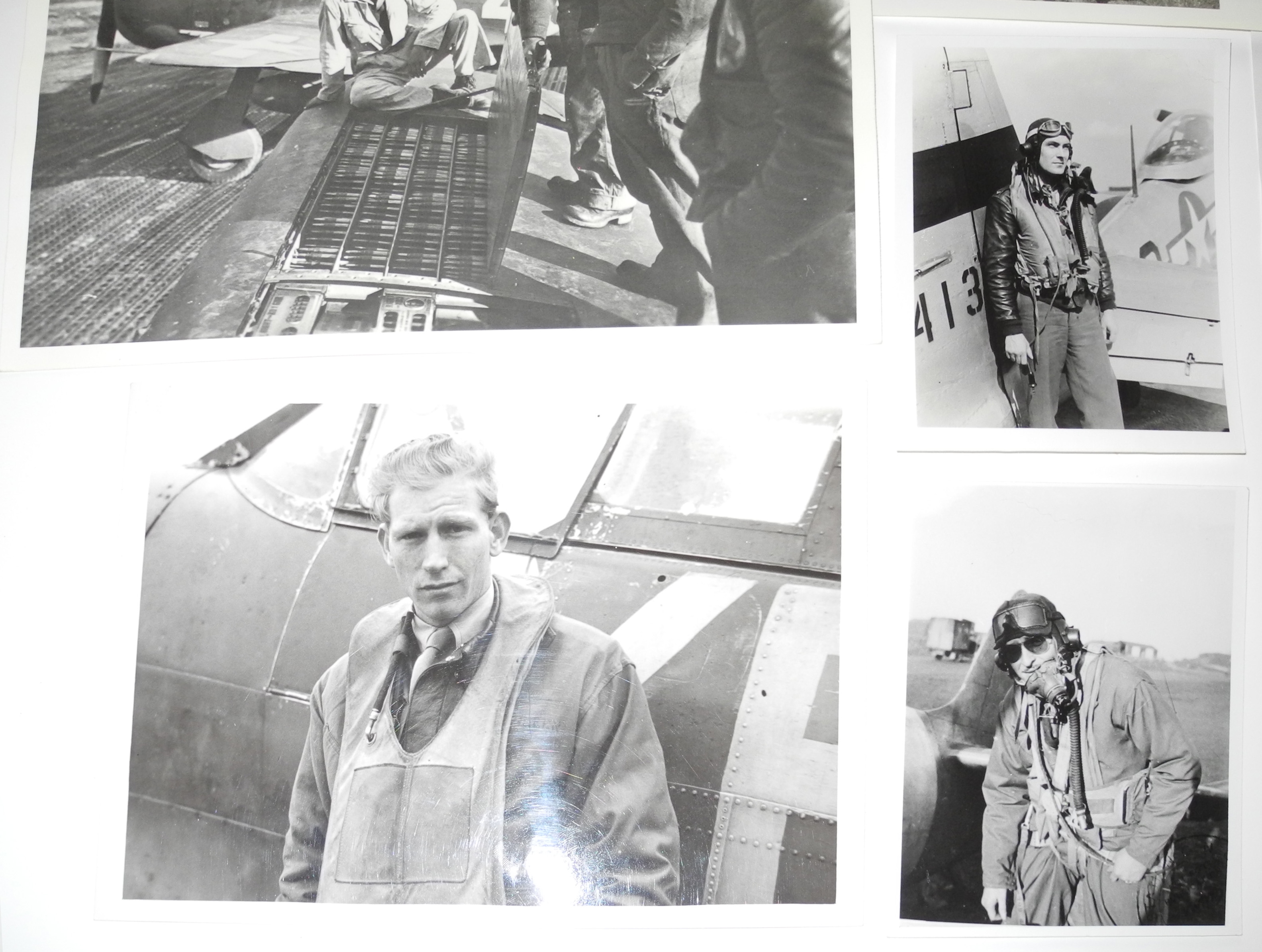 Eagles and AAF fighter pilots original photos