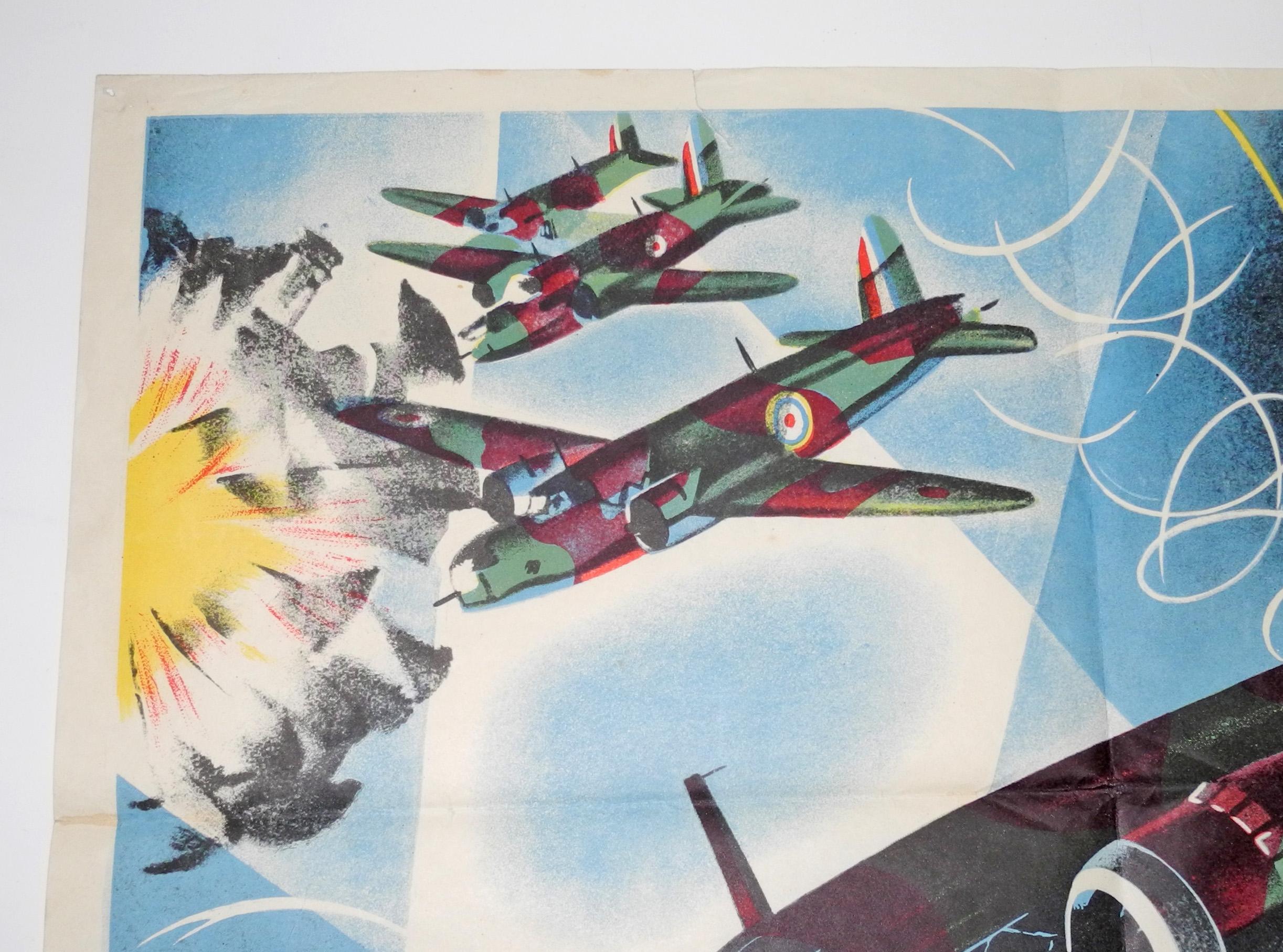 WWII 1941 RAF Information poster91