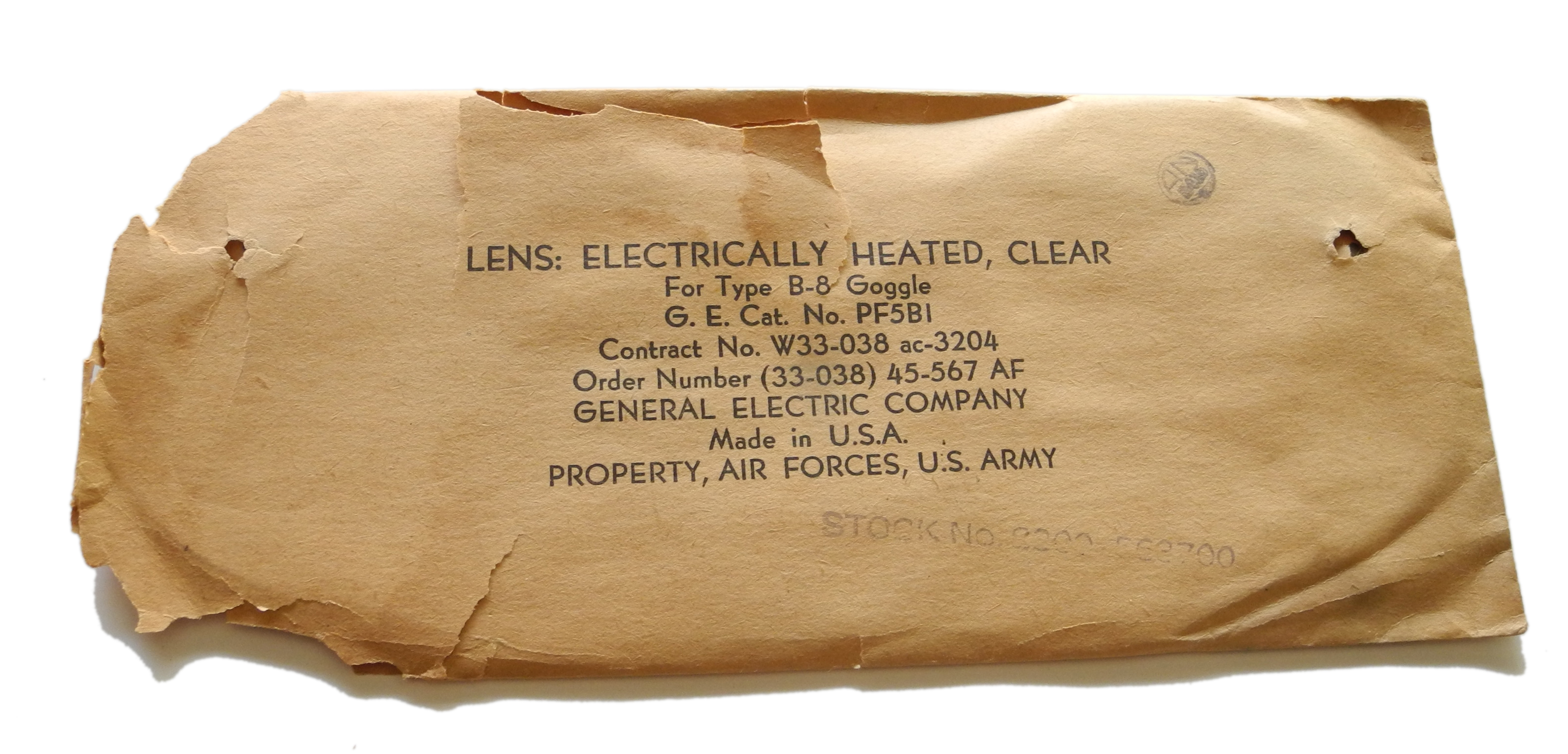 AAF B-8 electrically heated lens