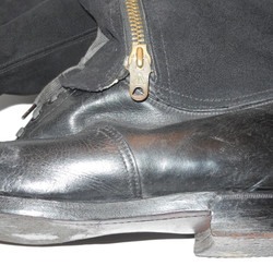 RAF 1943 escape boots with knife