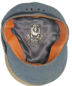 Postwar RAF officer's cap Moss Bros