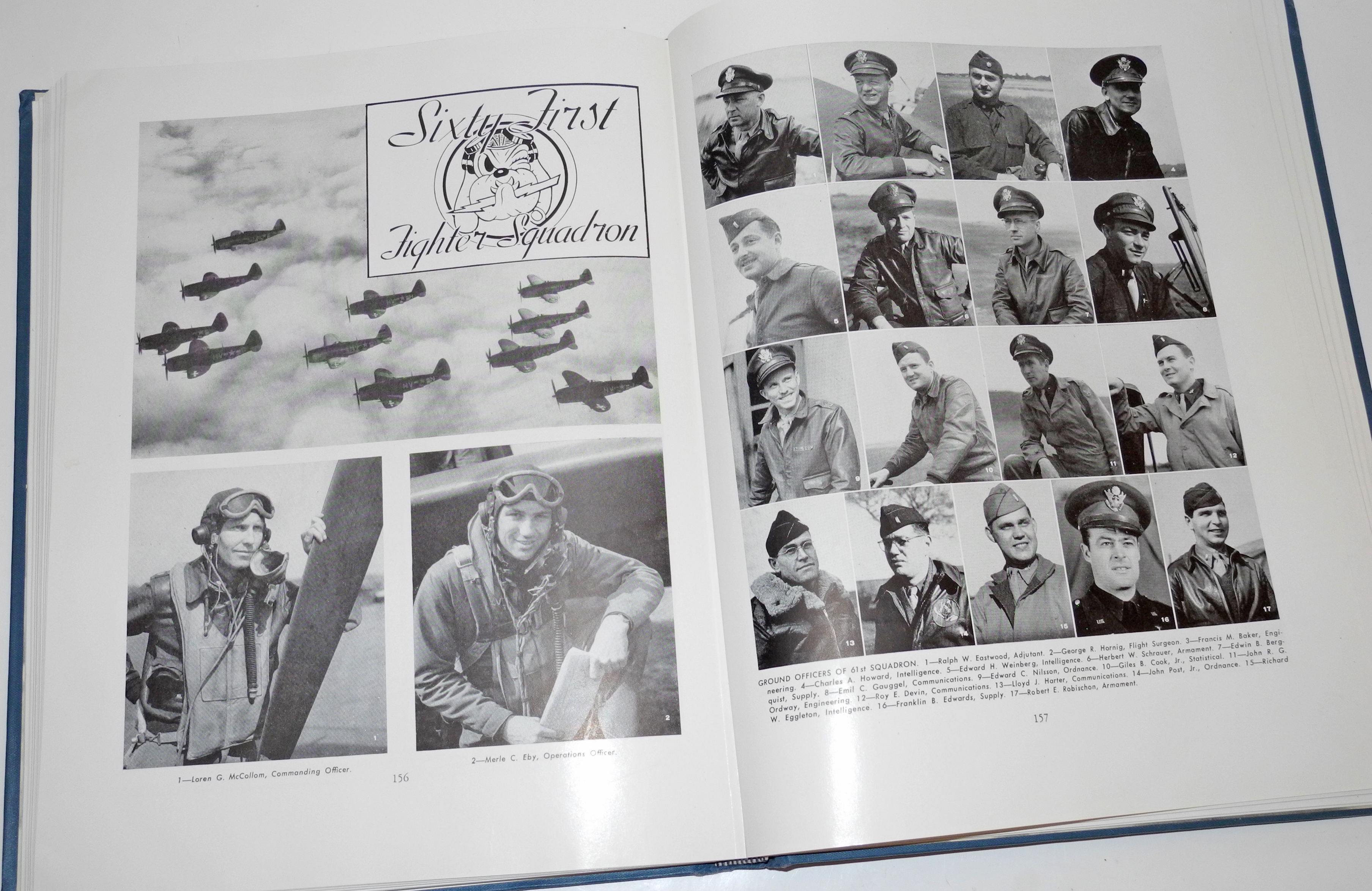 AAF 56th Fighter Group unit history