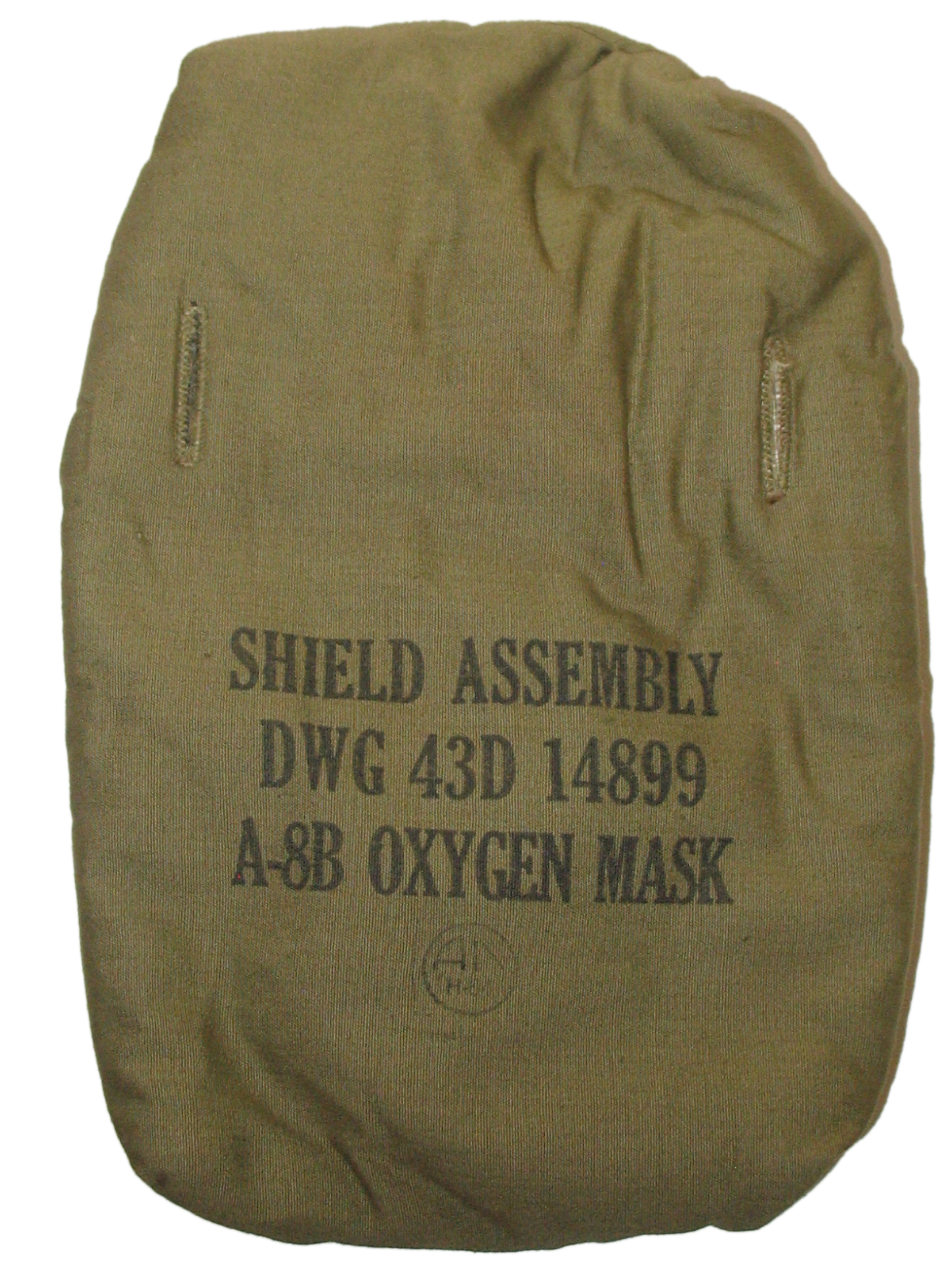 A-8B mask shield assembly