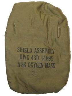 A-8B mask shield assembly