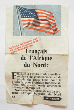 Propoganda flyer for France