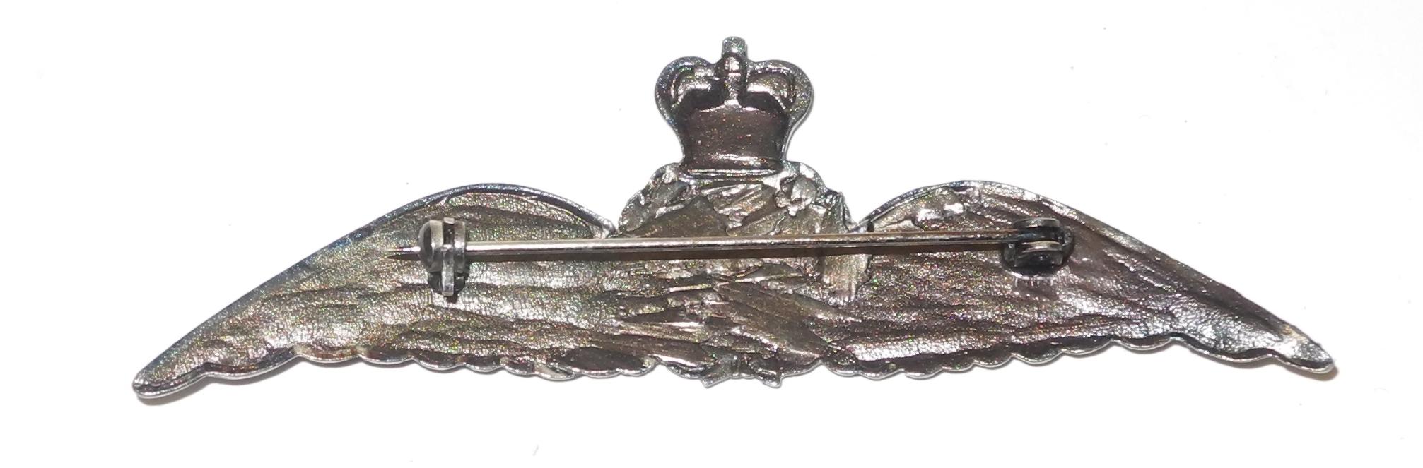 Early post-war RAAF pilot wing badge