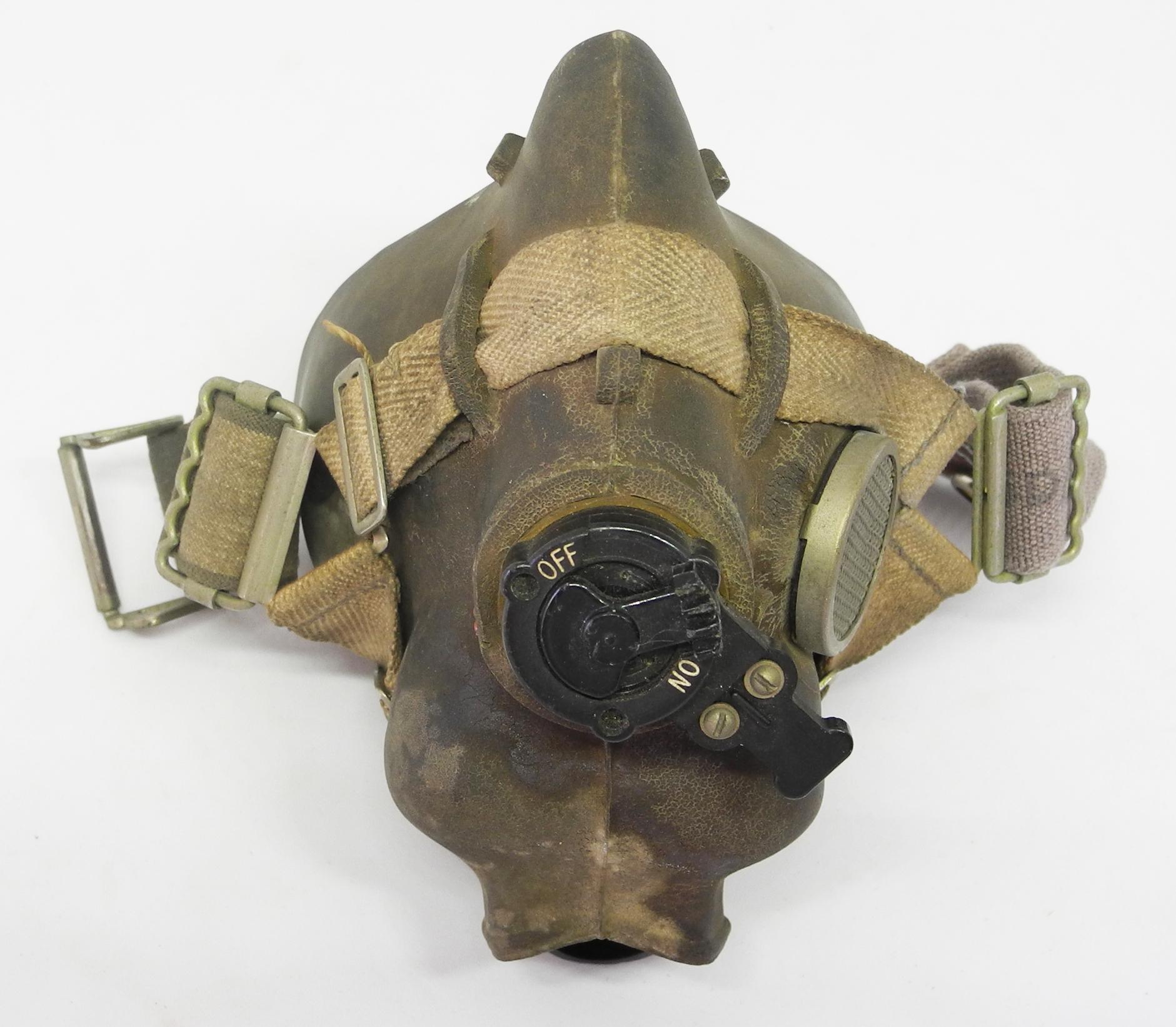 RAF Type H oxygen mask.